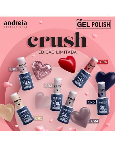 Coleção Crush - The Gel Polish Andreia
