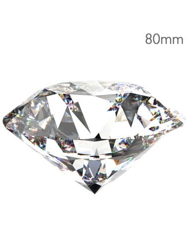 Cristal Swarovski Formato Diamante 80mm | Expositores/ Mostruário / Dispensadores