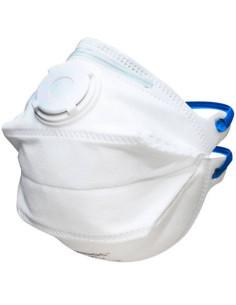 10 Máscaras Antivirus - Filtro FFP2 Com Válvula Homologada Cx 10 Unid. | Descartáveis