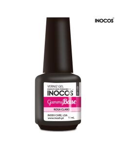 Gummy Base Rosa Claro Verniz Gel 15ml Inocos | INOCOS Complementos