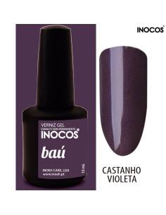 Baú Verniz Gel 15ml Inocos | INOCOS Verniz Gel