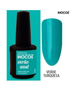Verão Azul Verniz Gel 15ml Inocos | INOCOS Verniz Gel