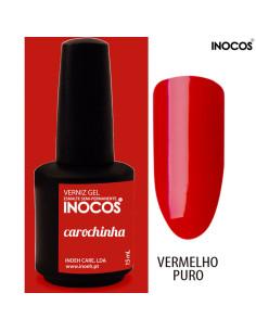 Carochinha Verniz Gel 15ml Inocos | INOCOS Verniz Gel
