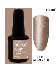 Ouro Perlimpimpim Verniz Gel 15ml Inocos | INOCOS Verniz Gel