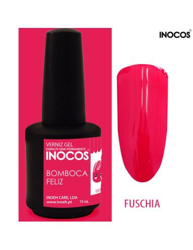 Bomboca Feliz Verniz Gel 15ml Inocos | INOCOS Verniz Gel