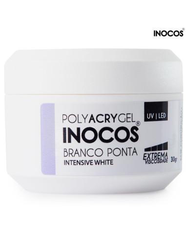 PolyAcrygel Branco Ponta 30gr Inocos | INOCOS Polyacrygel