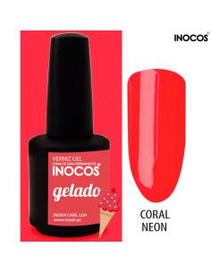 Gelado Verniz Gel 15ml Inocos | INOCOS Verniz Gel