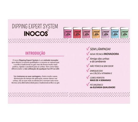 IN60 Bordeaux Escuro 26g Dipping System Inocos