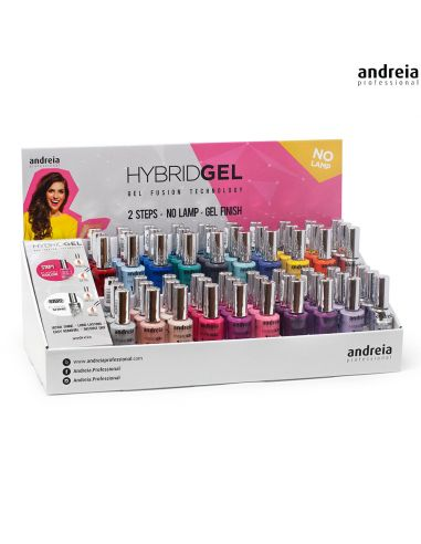 Kit Expositor Hybrid Gel