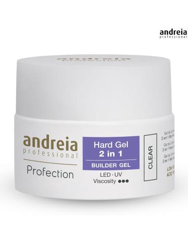 Hard Gel 2 em 1 Andreia - Clear 44gr