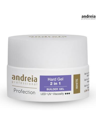 Hard Gel 2 em 1 Andreia - White 22gr
