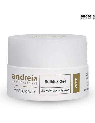 Andreia Builder Gel - 22g - white