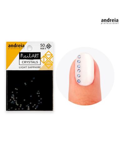 Andreia Nail Art Crystals Light Sapphire 3 Andreia Profissional Andreia Higicol