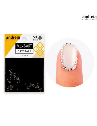 Andreia Nail Art Crystals Clear 2 Andreia Profissional Andreia Higicol