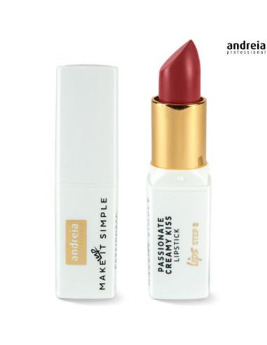 Batom Cherry 09 Passionate Creamy Kiss - Andreia M