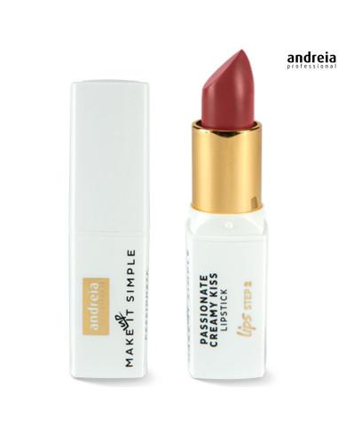 Batom Pinot Noir 08 Passionate Creamy Kiss - Andreia Makeup Lábios Andreia Higicol