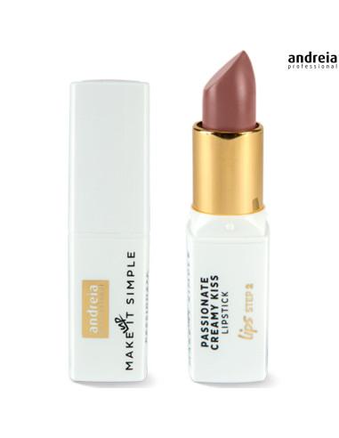 Batom Passionate Creamy Kiss - Chocolate 04 - Andr