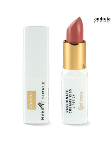 Batom Passionate Creamy Kiss - Hazelnut 01 - Andreia Makeup   Lábios