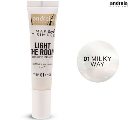 Primer Rosto - Light The Room - Andreia Makeup