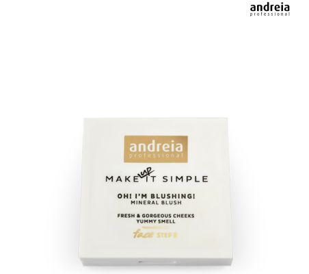 01 Mineral Blush GLOW - Andreia Makeup