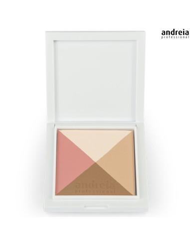 01 Paleta de Contorno Matte - Andreia Makeup