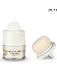 01 Coconut - Loose Fixing Powder - Andreia Makeup | Rosto