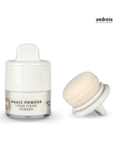 02 Rice - Loose Fixing Powder - Andreia Makeup