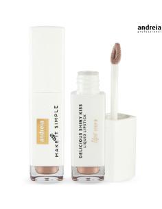 Batom Líquido G01 Delicious Shinny Kiss - Andreia Makeup DESC   Andreia Higicol