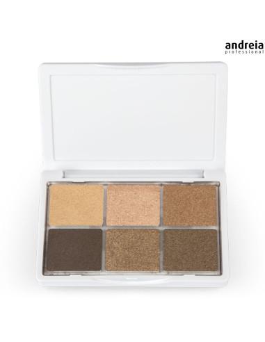 Paleta de Sombras  01 The Nudes - Andreia Makeup