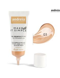 Base 03 HD Perfect PIC - Andreia Makeup DESC | Andreia Higicol | Rosto