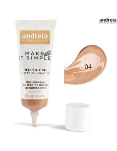 Base 04 Matte Mattify Me - Andreia Makeup Rosto Andreia Higicol
