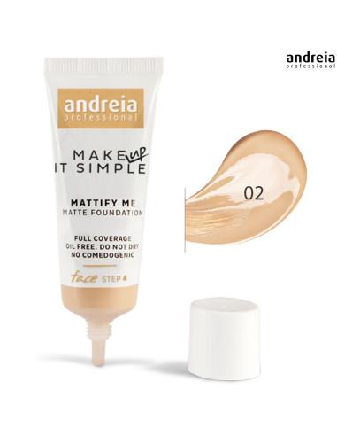 Base 02 Matte Mattify Me - Andreia Makeup Rosto Andreia Higicol