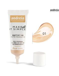 Base 01 Matte Mattify Me - Andreia Makeup Rosto Andreia Higicol