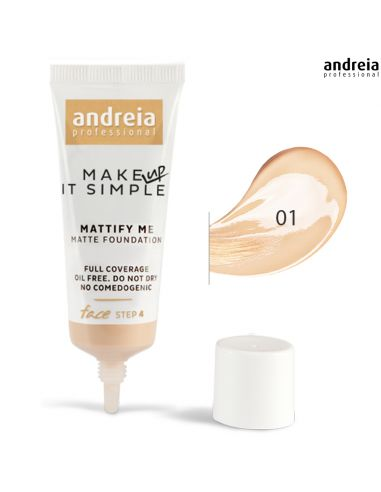 Base 01 Matte Mattify Me - Andreia Makeup