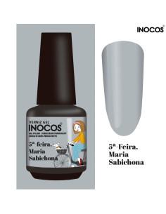 5ª Feira Maria Sabichona Verniz Gel 15ml - Inocos | INOCOS Verniz Gel