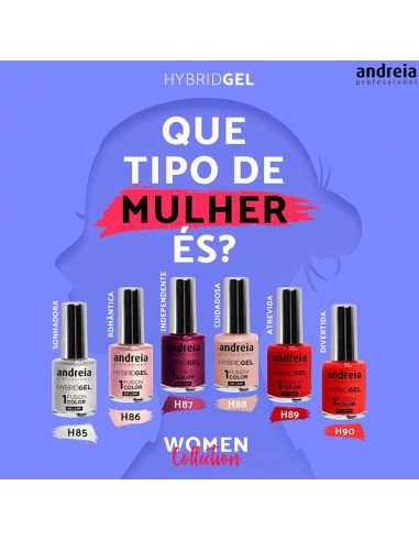 Hybrid Gel Women Collection - Andreia