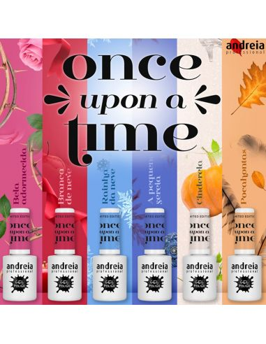 Verniz Gel Andreia - Once Upon a Time Collection - Higicol