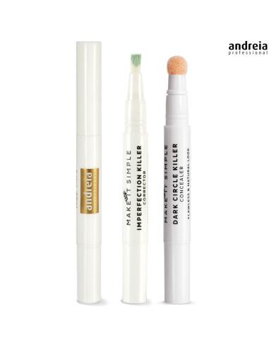 03 Corretor de Imperfeições - Andreia Makeup | Rosto