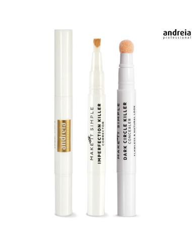 02 - Corretor de Imperfeições - Andreia Makeup - Maquilhagem Andreia