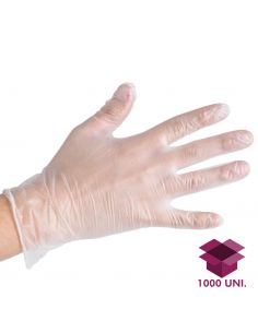 Luvas Vinil Com Pó - 10 Embalagens - 1000 Unidades - Descartáveis