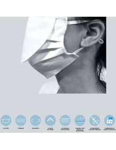 Mascara Reutilizável/ Lavável modelo c/pala V2 | Máscaras Descartáveis
