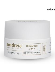 Andreia Builder Gel 3 em 1 SOFT WHITE 22gr DESC |