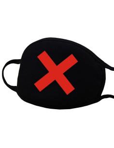 Máscara de Proteção em Tecido - Cruz DESC | Material de Manicure