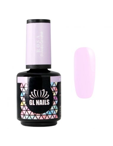 Verniz Gel Rosa 15ml - GL Nails