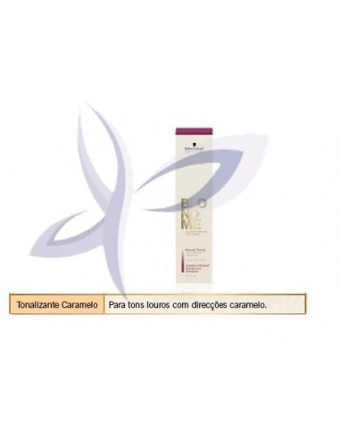 BLONDME Creme Tonalizante  Caramelo  60ml