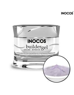 Gel Construção Violeta Transparente 30gr Inocos | Gel Construção Média Viscosidade