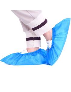 Cobertura p/ sapatos Plast. Emb.100un | Chinelos Descartáveis