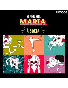Coleção Verniz Gel Inocos - Maria à Solta | INOCOS Verniz Gel