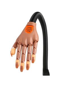 Mão de Treino Manicure Com Suporte de Mesa | Acessórios para Unhas