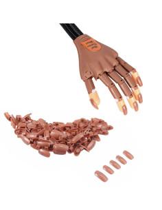 100 Tips para Mão de Treino Manicure | Acessórios para Unhas